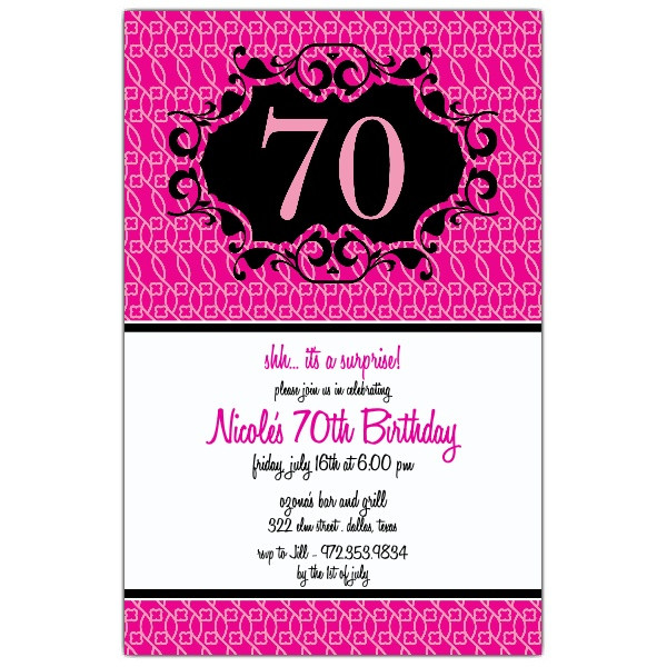 Best ideas about 70 Birthday Invitations . Save or Pin 70 Birthday Invitations Templates – Bagvania FREE Now.
