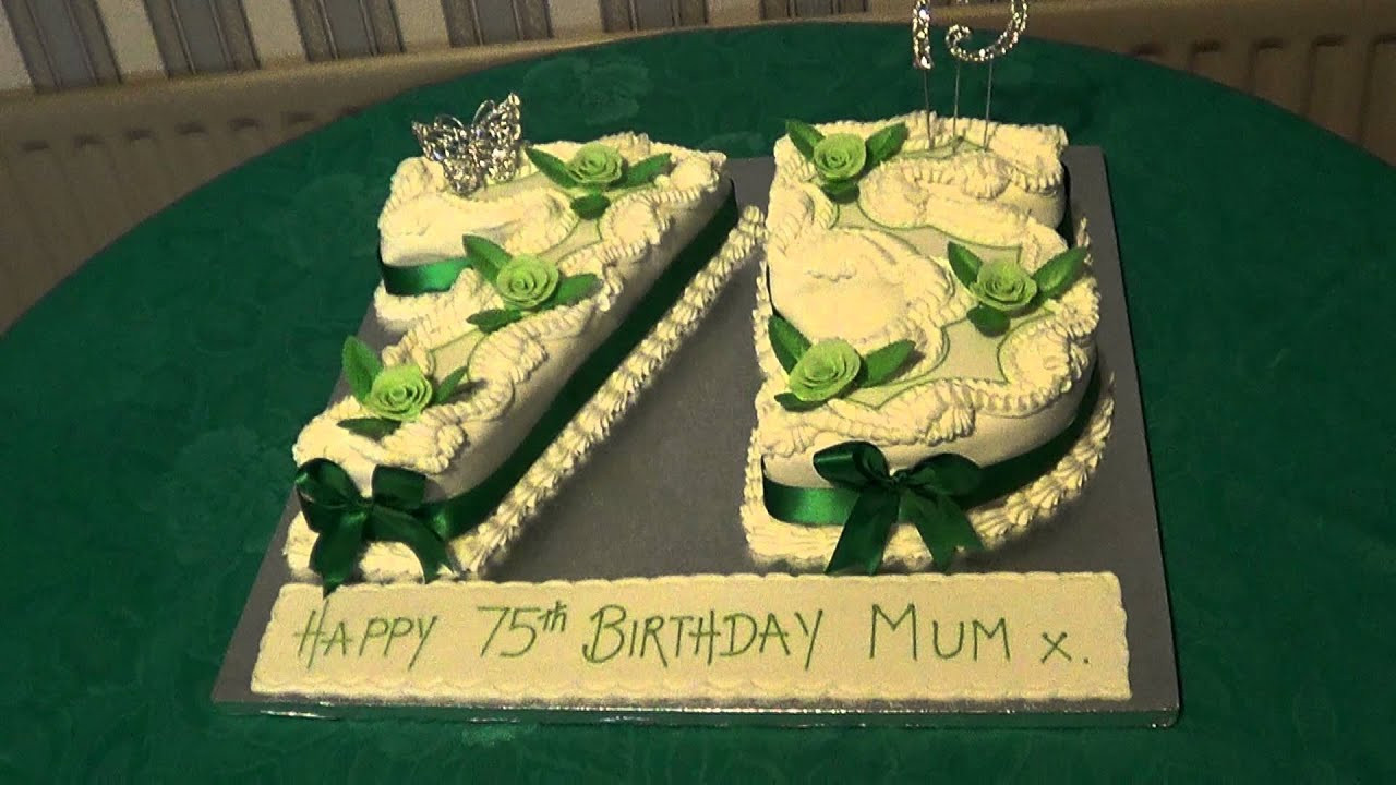 75Th Birthday Gift Ideas For Grandma  1 10 11 2012 LAURA S GRANDMOTHER S 75TH BIRTHDAY CAKE
