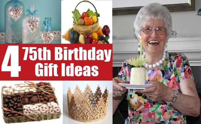 75Th Birthday Gift Ideas For Grandma  75th Birthday Gift Ideas For Your Dear e Gift Ideas