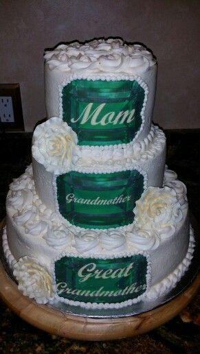 75Th Birthday Gift Ideas For Grandma  75th Birthday Cake 3 flavors with buttercream icing