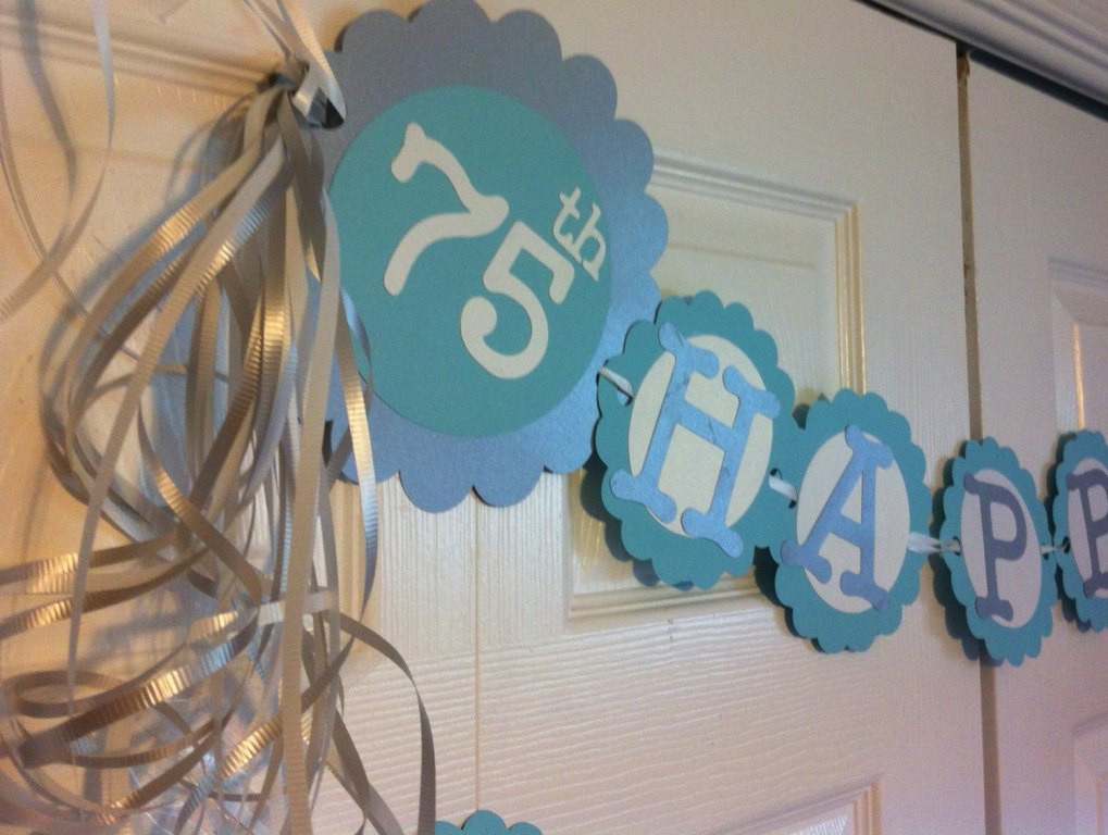 75th Birthday Party Decorations  Meaningful 75th Birthday Gift Ideas