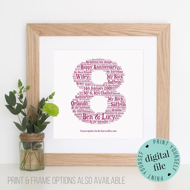 8 Year Anniversary Gift Ideas  17 Best ideas about 8th Wedding Anniversary on Pinterest