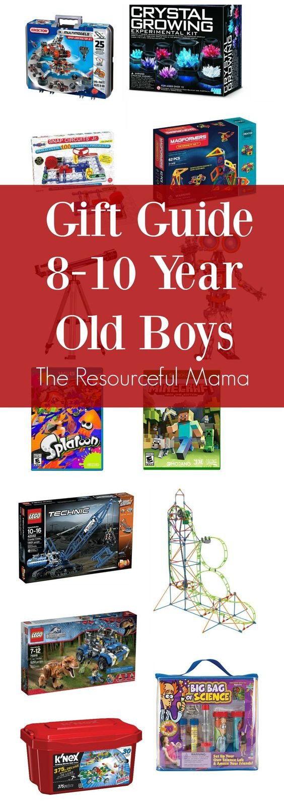8 Year Old Boy Birthday Gift Ideas  Gift guide Old boys and Year old on Pinterest