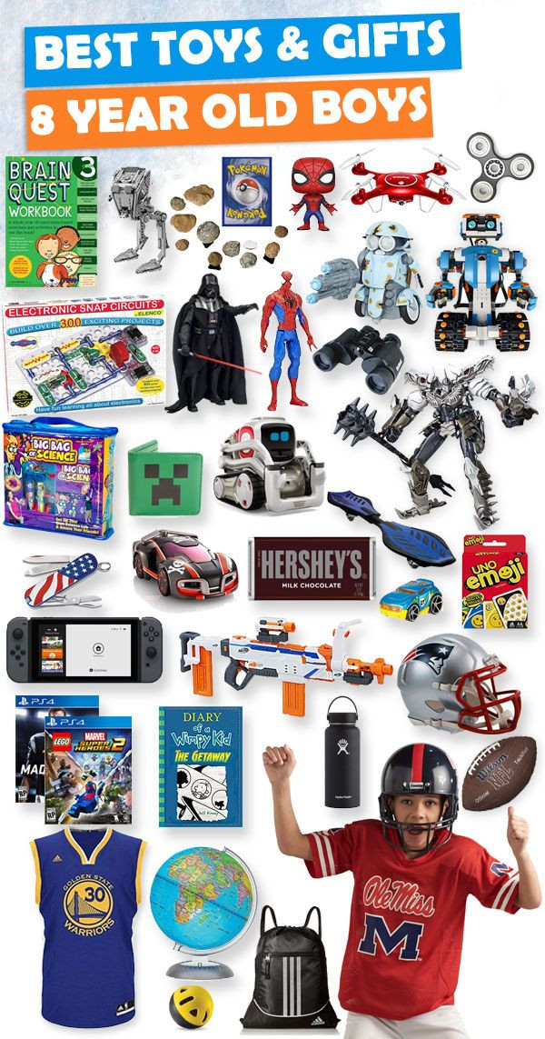 8 Year Old Boy Birthday Gift Ideas  birthday present ideas for 8 year old boy best toys and