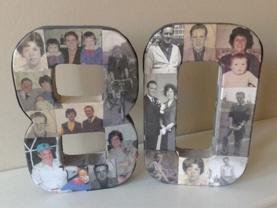 80Th Birthday Gift Ideas For Dad  80th Birthday idea celebrating both my Mam & Dad s 80th