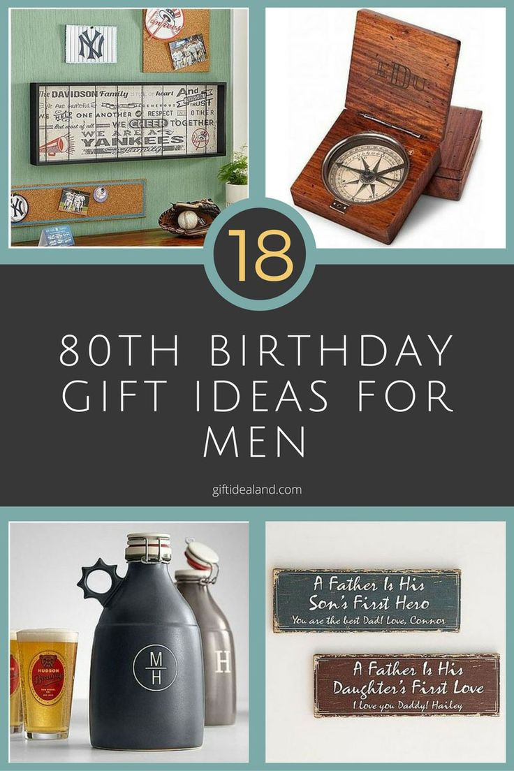 80Th Birthday Gift Ideas For Dad  15 best ideas about Birthday Presents For Him on