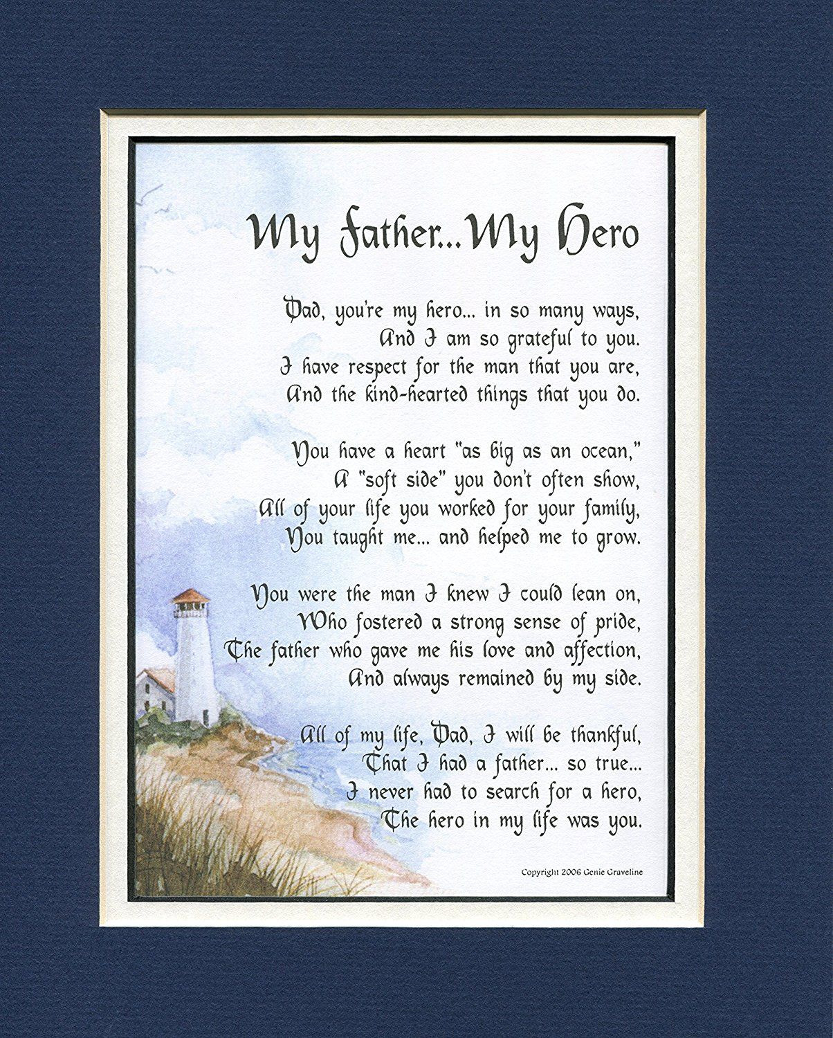 80Th Birthday Gift Ideas For Dad  My Father My Hero 18 A Birthday Gift For Dad Poem 50th