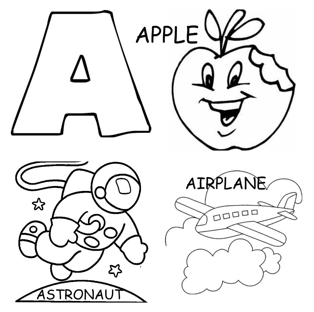 A B C Coloring Books  ABC Coloring Pages Bestofcoloring