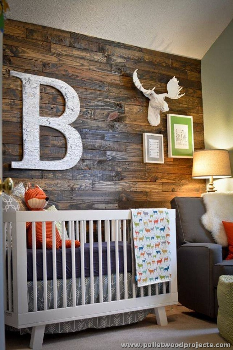 Best ideas about Accent Wall Decor . Save or Pin Accent Wall Made Out of Pallets Now.