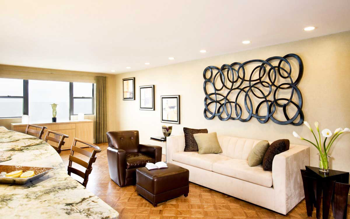 Best ideas about Accent Wall Decor . Save or Pin 10 Dashing Living Room Wall Accents And Ideas Now.