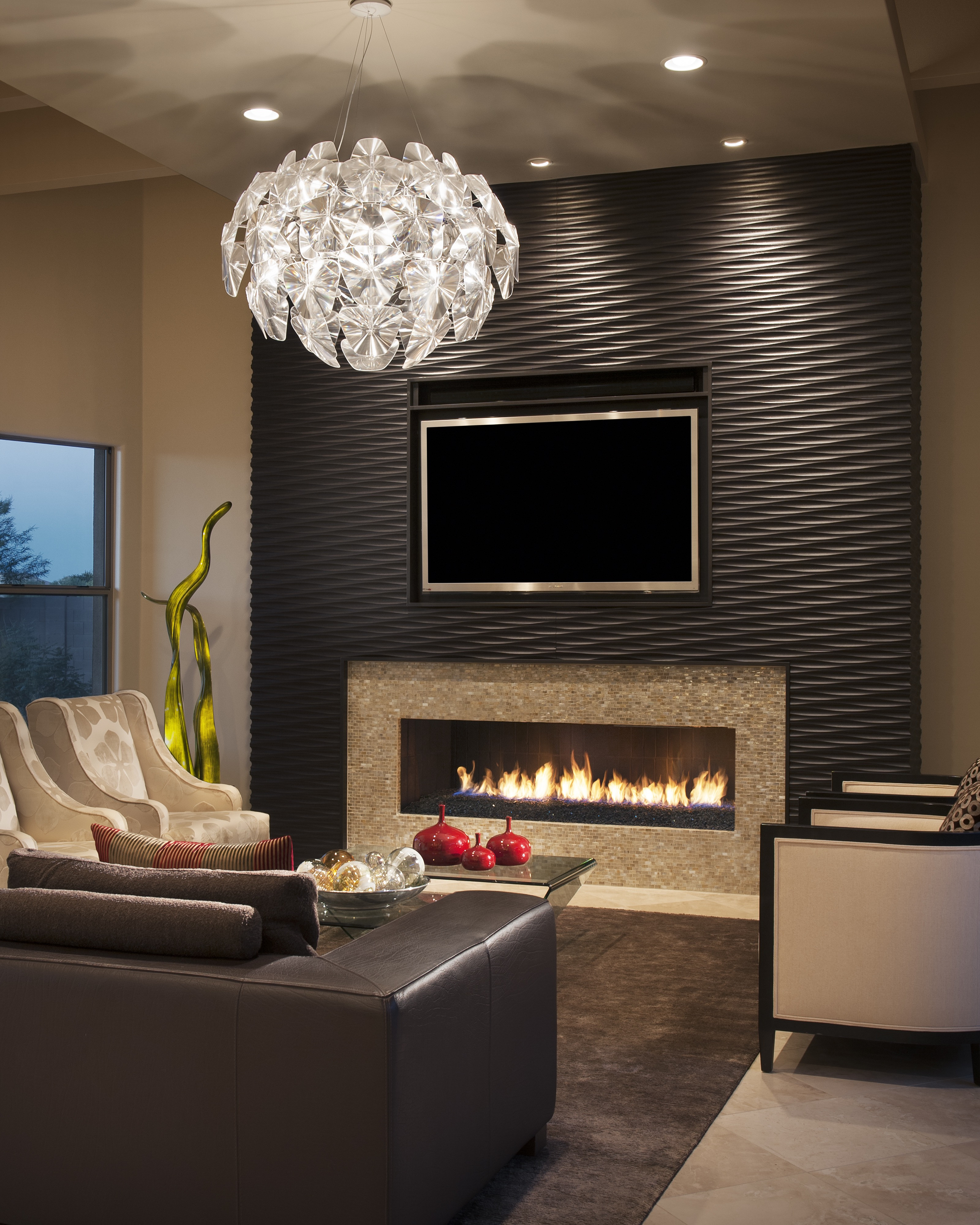 Best ideas about Accent Wall Decor . Save or Pin 30 Beautiful Ideas For Living Room Wall Decor Now.