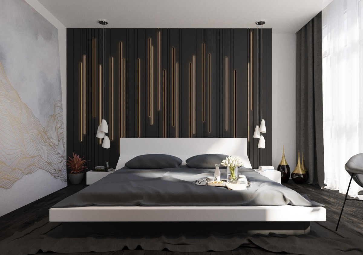 Best ideas about Accent Wall Decor . Save or Pin 44 Awesome Accent Wall Ideas For Your Bedroom Now.