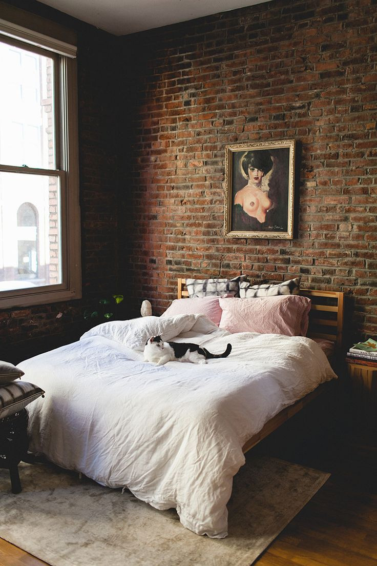 Best ideas about Accent Wall Decor . Save or Pin The 25 best Brick bedroom ideas on Pinterest Now.