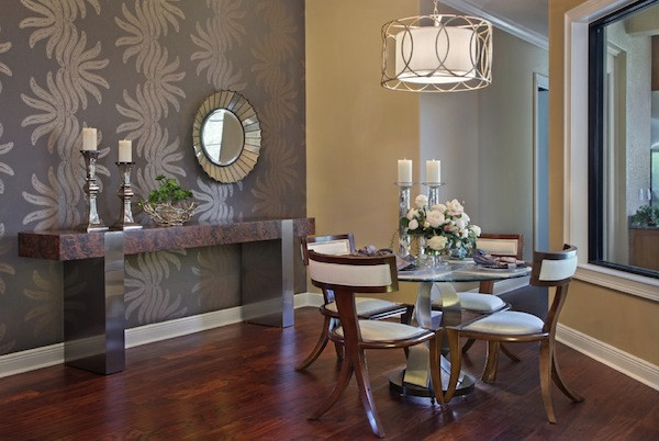 Best ideas about Accent Wall Decor . Save or Pin How to Choose an Accent Wall Color Ideal For Dining Room Now.