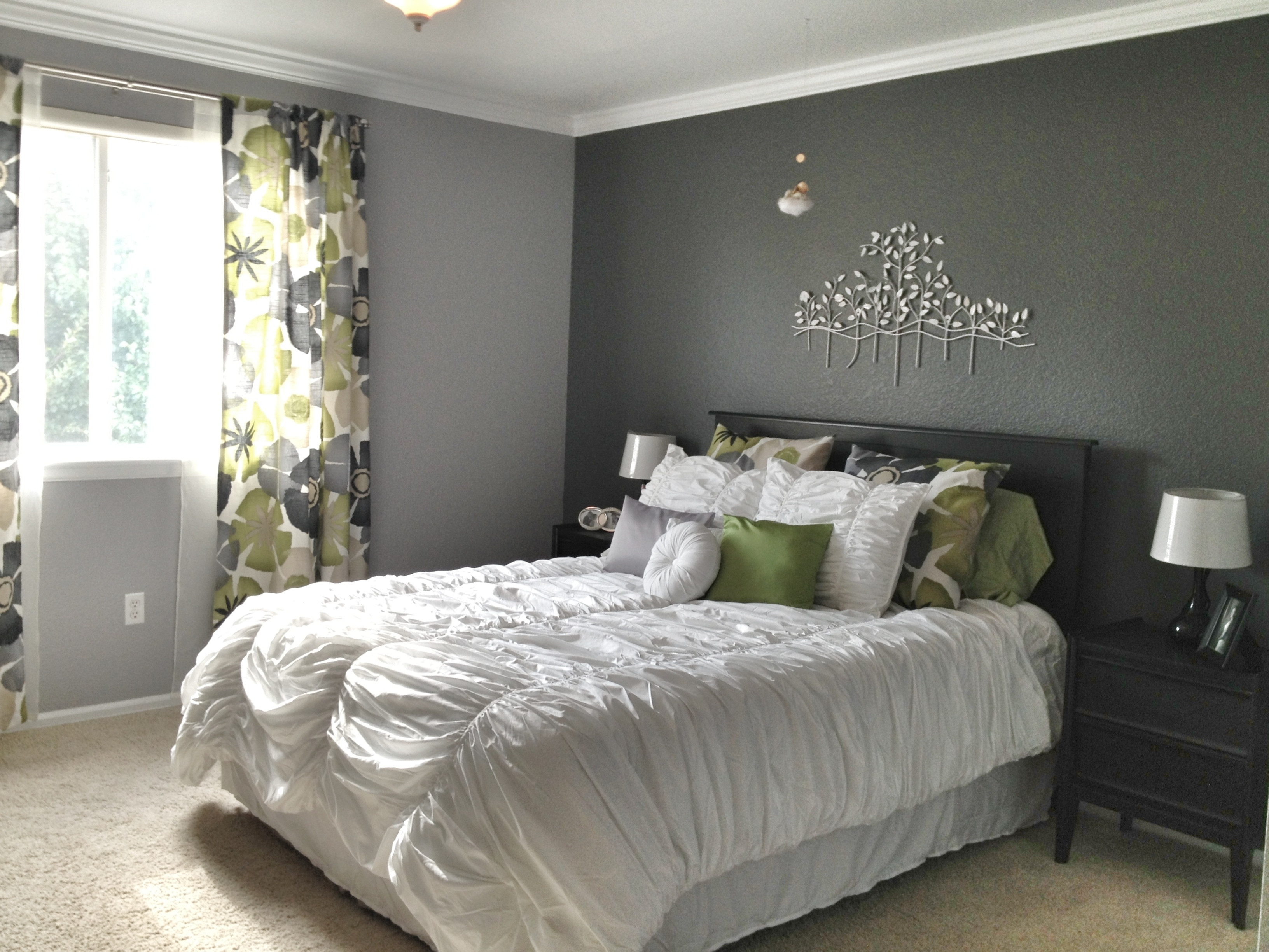 Best ideas about Accent Wall Decor . Save or Pin 15 Ideas of Wallpaper Bedroom Wall Accents Now.