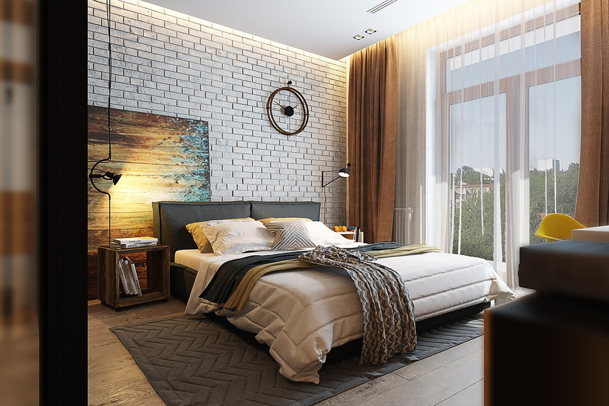Best ideas about Accent Wall Decor . Save or Pin 7 Bedrooms With Brilliant Accent Walls Now.