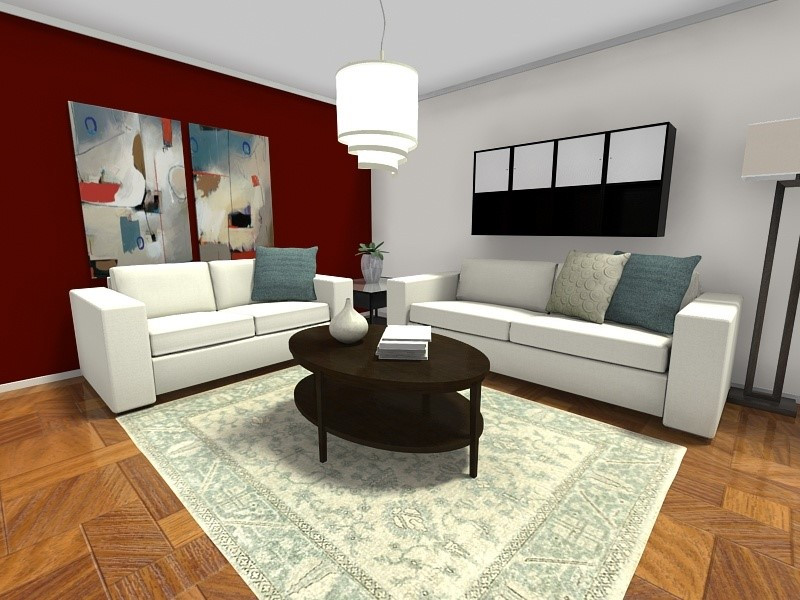 Best ideas about Accent Wall Ideas Living Room . Save or Pin 7 Small Room Ideas That Work Big Now.