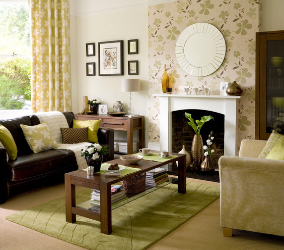 Best ideas about Accent Wall Ideas Living Room . Save or Pin Interior Living Room ideas to for Now.