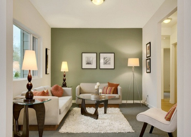 Best ideas about Accent Wall Ideas Living Room . Save or Pin Pin Painting accent walls ideas pictures on Pinterest Now.