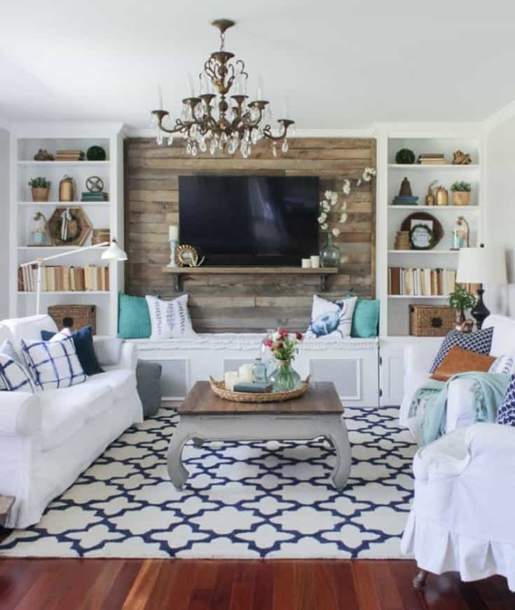 Best ideas about Accent Wall Ideas Living Room . Save or Pin Awesome Accent Wall Ideas For Bedroom Living Room Now.