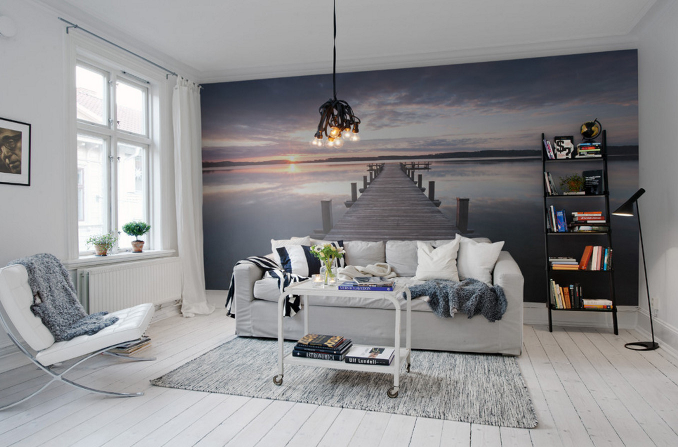Best ideas about Accent Wall Ideas Living Room . Save or Pin 10 Easy Accent Wall Ideas for Your Living Room Now.