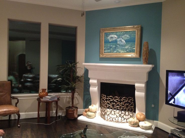 Best ideas about Accent Wall Ideas With Fireplace . Save or Pin Another fireplace accent wall For the Home Now.