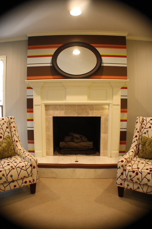 Best ideas about Accent Wall Ideas With Fireplace . Save or Pin Kristen F Davis Designs Fireplace Accent Wall Now.