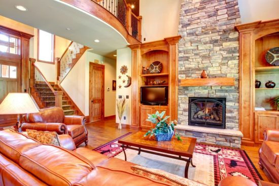 Best ideas about Accent Wall Ideas With Fireplace . Save or Pin 33 Stunning Accent Wall Ideas For Living Room Now.