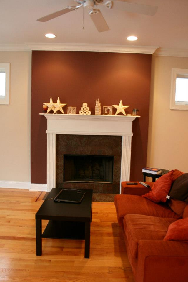 Best ideas about Accent Wall Ideas With Fireplace . Save or Pin 1000 images about Accent Walls on Pinterest Now.