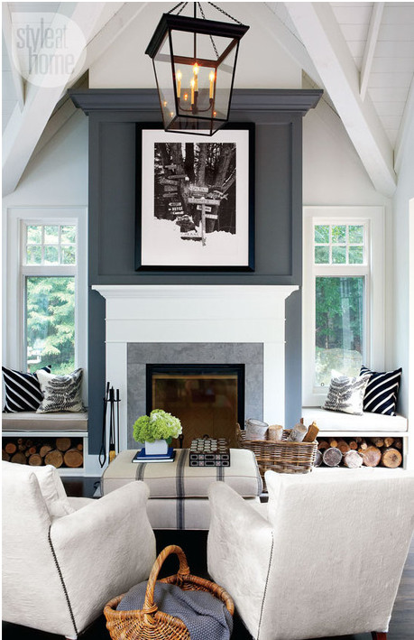 Best ideas about Accent Wall Ideas With Fireplace . Save or Pin Accent wall update New trends in accent walls Now.