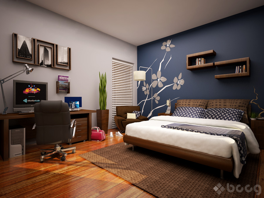 Best ideas about Accent Wall In Bedroom . Save or Pin Bedroom Walls that Pack a Punch Now.