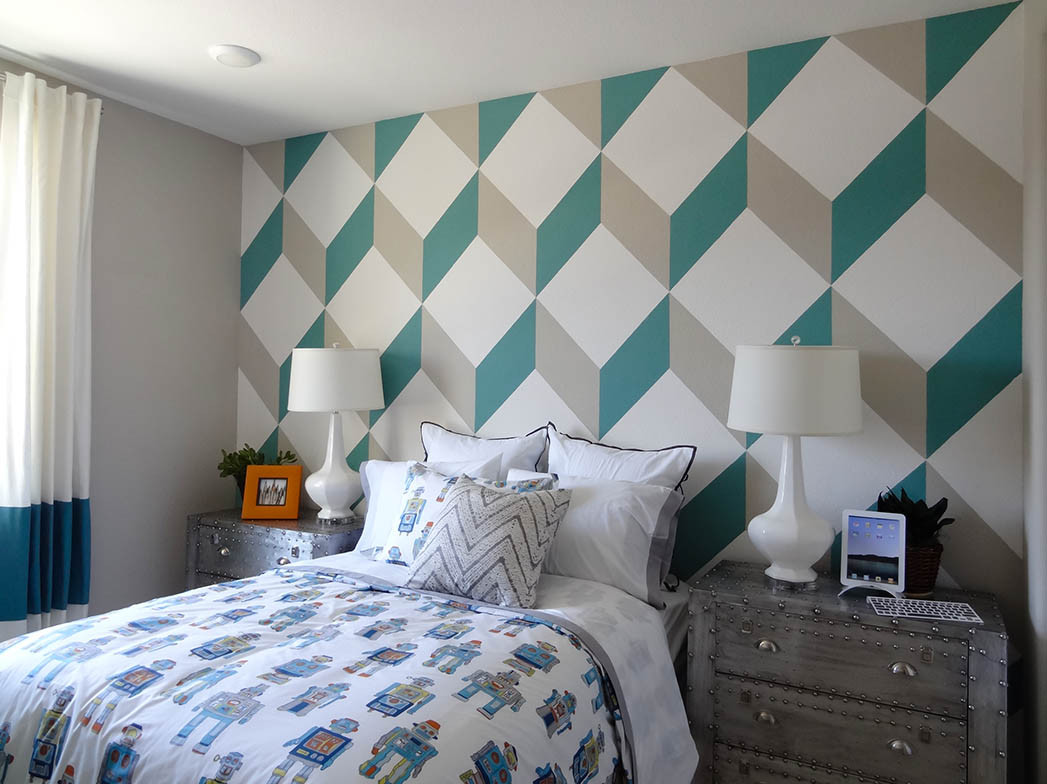 Best ideas about Accent Wall Painting . Save or Pin Delightful Wall Paint Ideas Now.