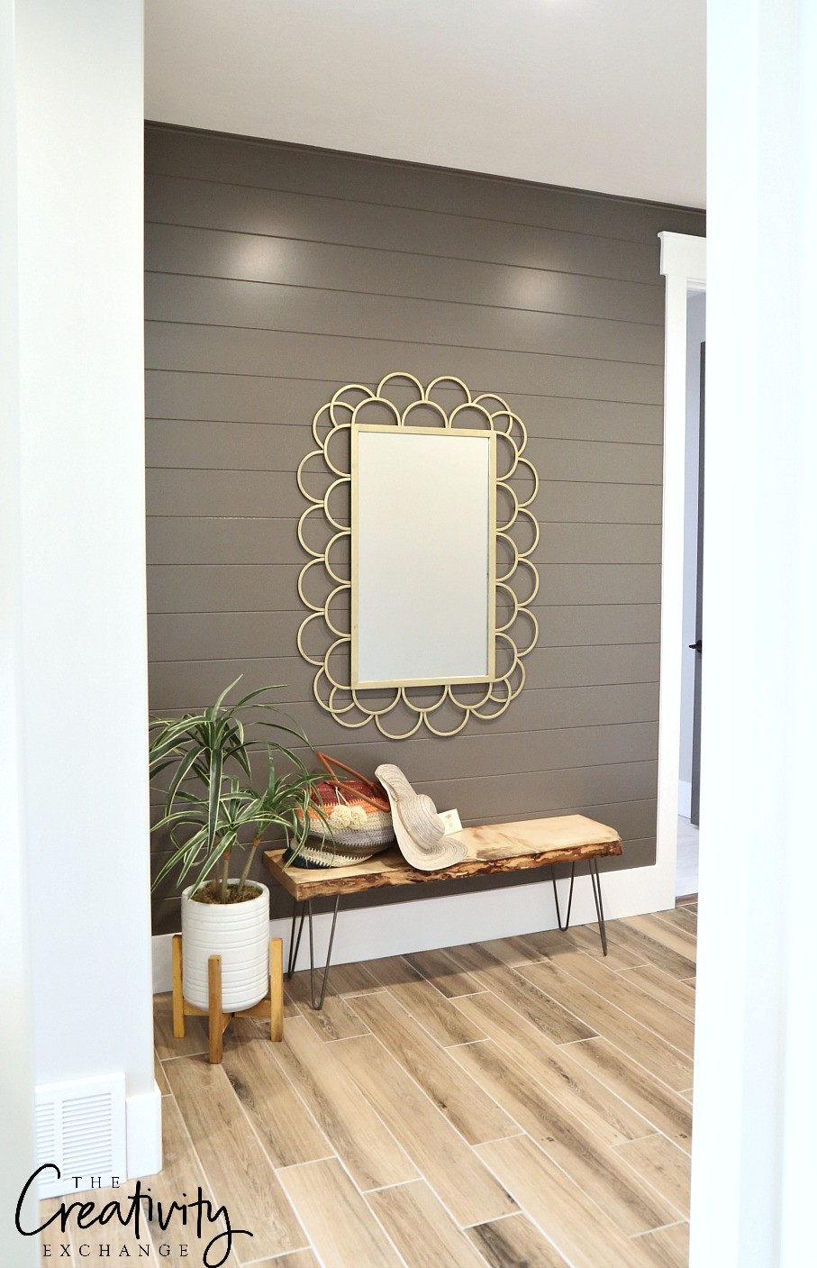 Best ideas about Accent Wall Painting . Save or Pin Painted Shiplap Accent Walls in Rich Colors Now.