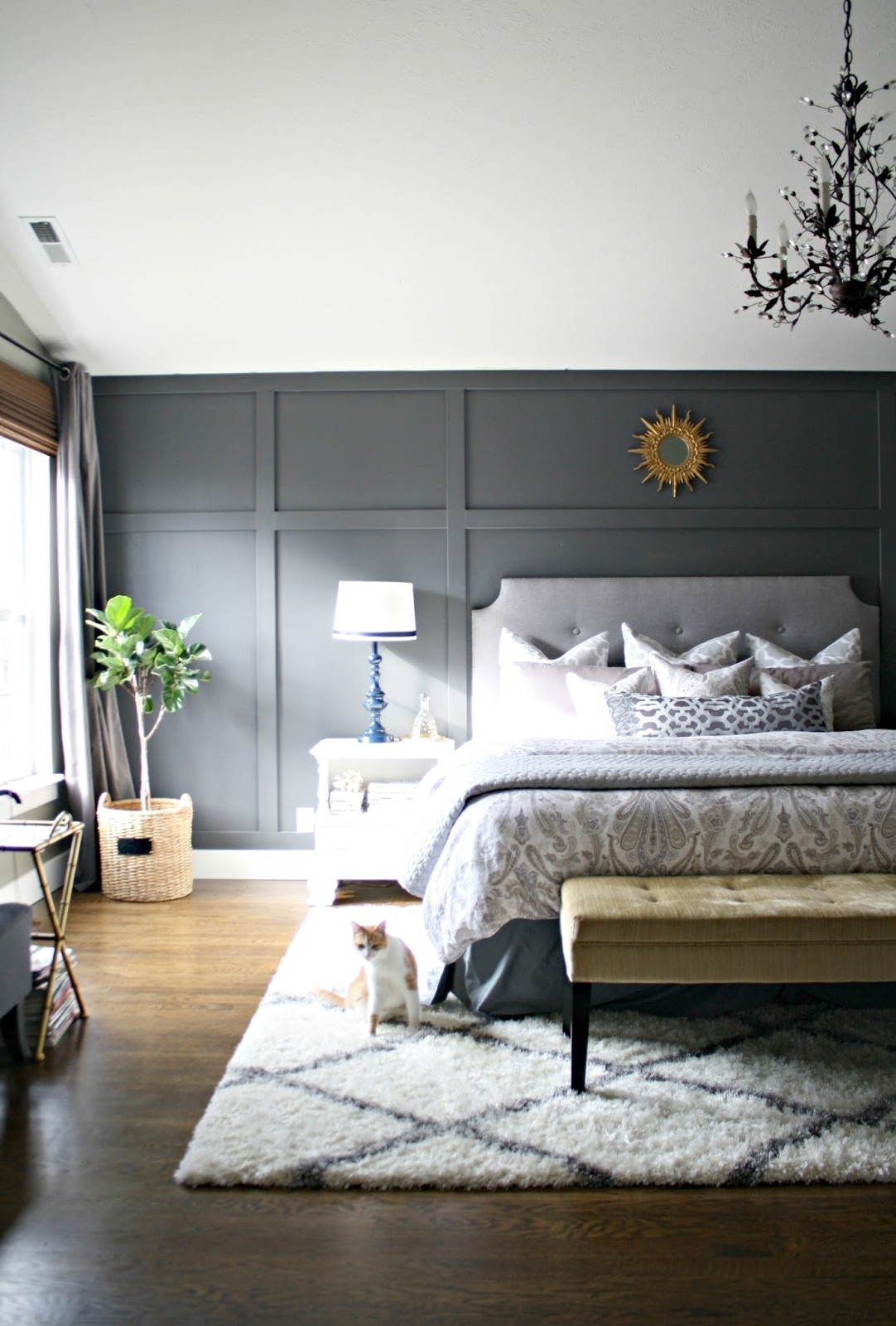 Best ideas about Accent Walls Designs . Save or Pin 15 Ideas of Wallpaper Bedroom Wall Accents Now.