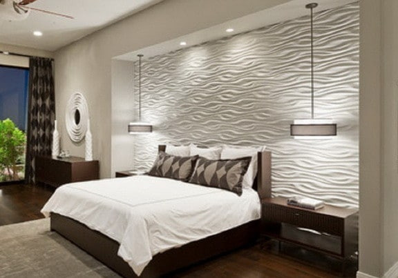 Best ideas about Accent Walls Designs . Save or Pin 35 Unique Accent Wall Ideas Now.
