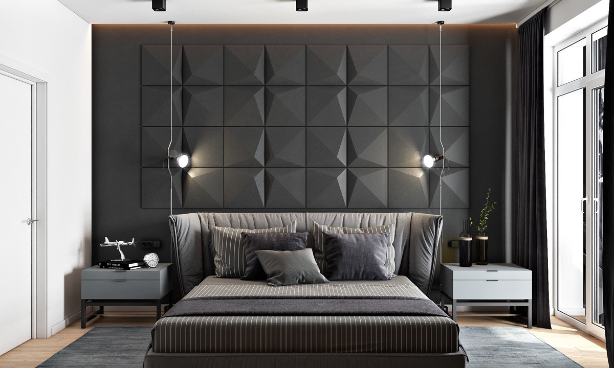 Best ideas about Accent Walls Designs . Save or Pin 44 Awesome Accent Wall Ideas For Your Bedroom Now.