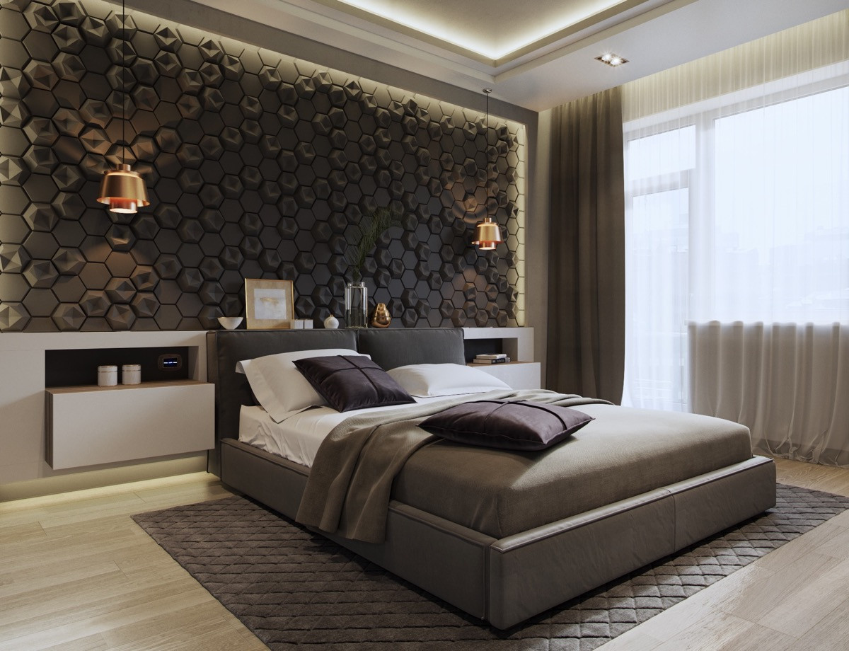 Best ideas about Accent Walls Ideas Bedroom . Save or Pin 44 Awesome Accent Wall Ideas For Your Bedroom Now.