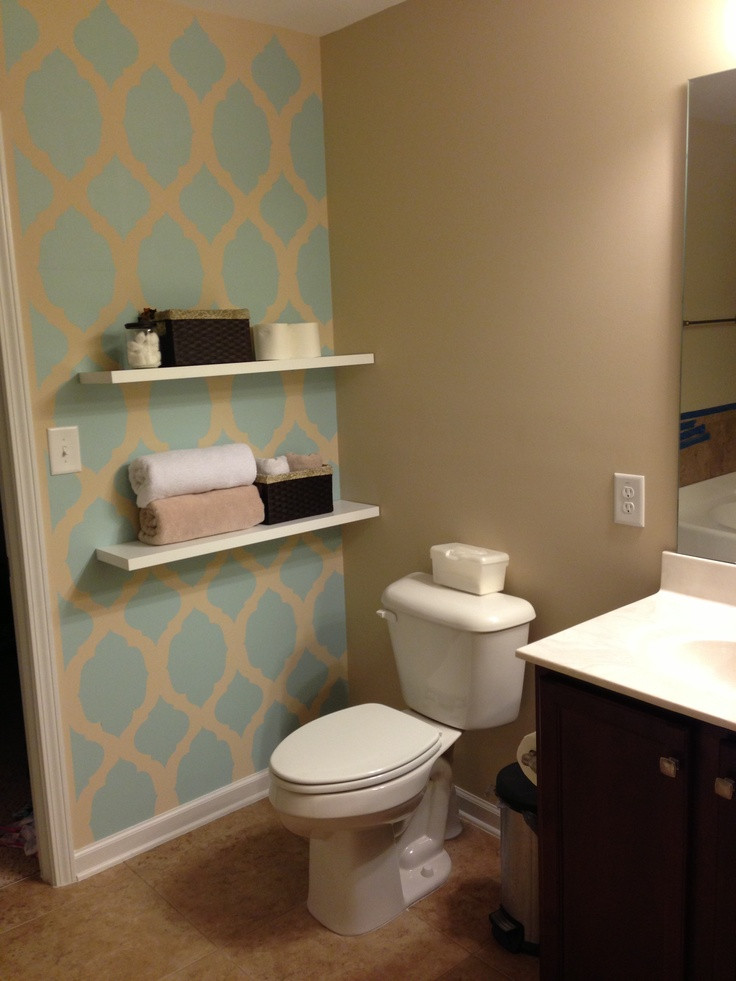 Best ideas about Accent Walls In Bathrooms . Save or Pin bathroom accent bathroom accent wall home ideas pinterest Now.