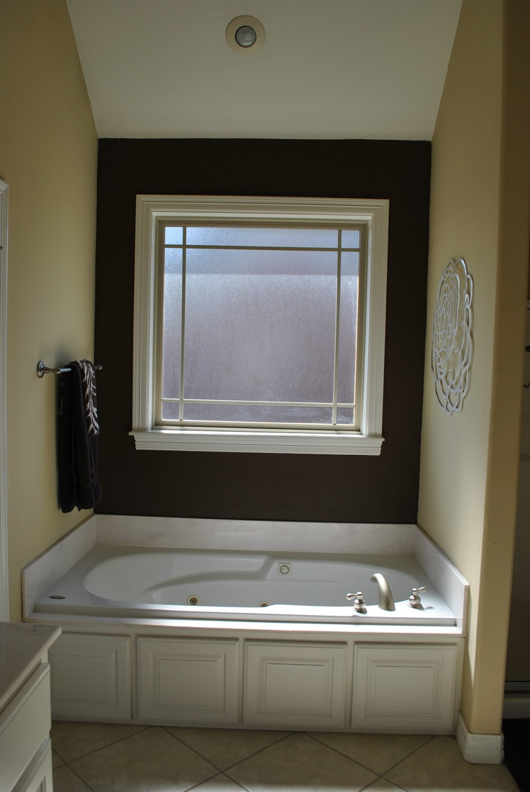 Best ideas about Accent Walls In Bathrooms . Save or Pin The Francis Family Master Bathroom Accent Wall Now.