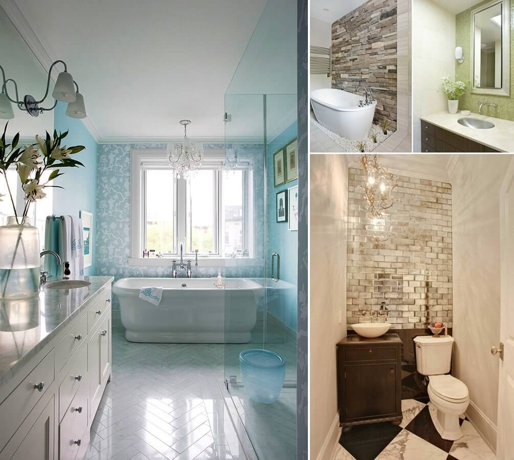 Best ideas about Accent Walls In Bathrooms . Save or Pin 13 Amazing Accent Wall Ideas for Your Bathroom Now.