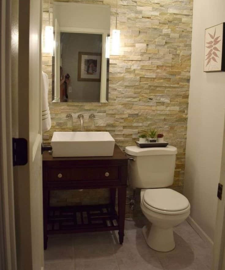 Best ideas about Accent Walls In Bathrooms . Save or Pin Awesome Accent Wall Ideas For Bedroom Living Room Now.