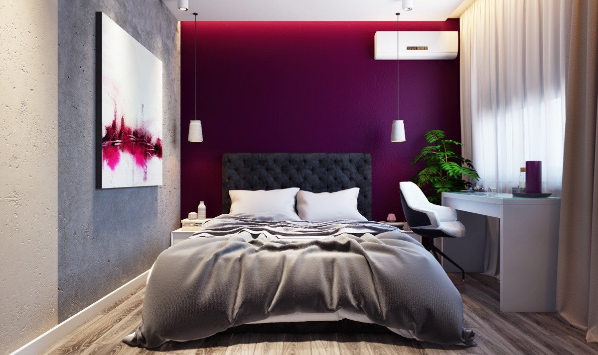 Best ideas about Accent Walls In Bedroom . Save or Pin 44 Awesome Accent Wall Ideas For Your Bedroom Now.