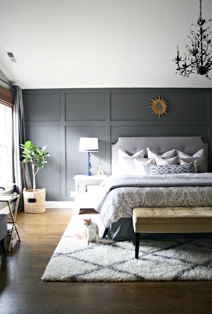 Best ideas about Accent Walls In Bedroom . Save or Pin Small master bedroom Here's how to make the most of it Now.