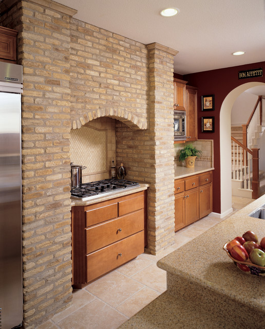 Best ideas about Accent Walls In Kitchen . Save or Pin Brick Accent Wall Kitchen Now.