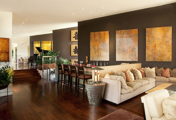 Best ideas about Accent Walls Living Room . Save or Pin manding a Presence Dark Accent Walls that Make a Statement Now.
