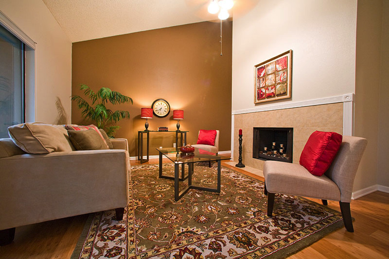 Best ideas about Accent Walls Living Room . Save or Pin Tips for Painting Your Home Walls like a Pro Now.