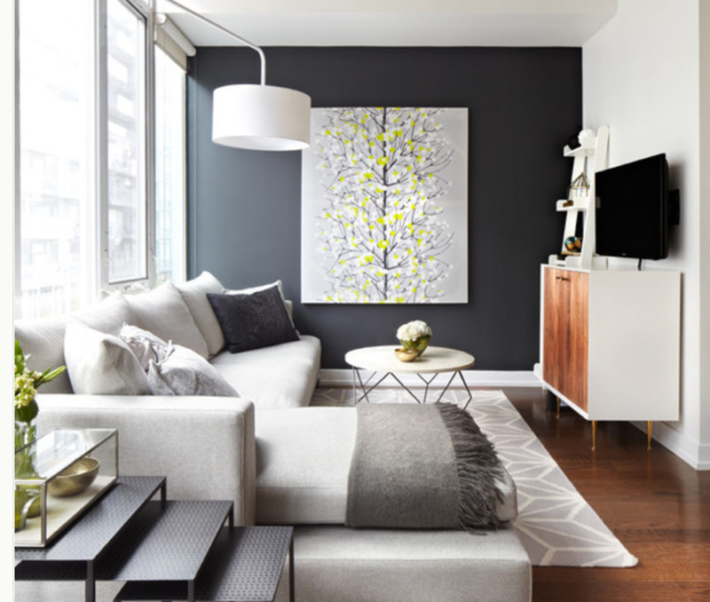 Best ideas about Accent Walls Living Room . Save or Pin 24 Living Room Designs With Accent Walls Page 2 of 5 Now.