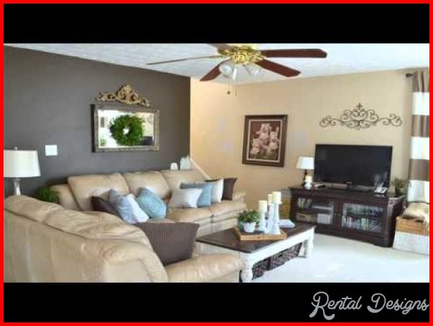 Best ideas about Accent Walls Painting Ideas . Save or Pin Accent Wall Paint Ideas RentalDesigns Now.