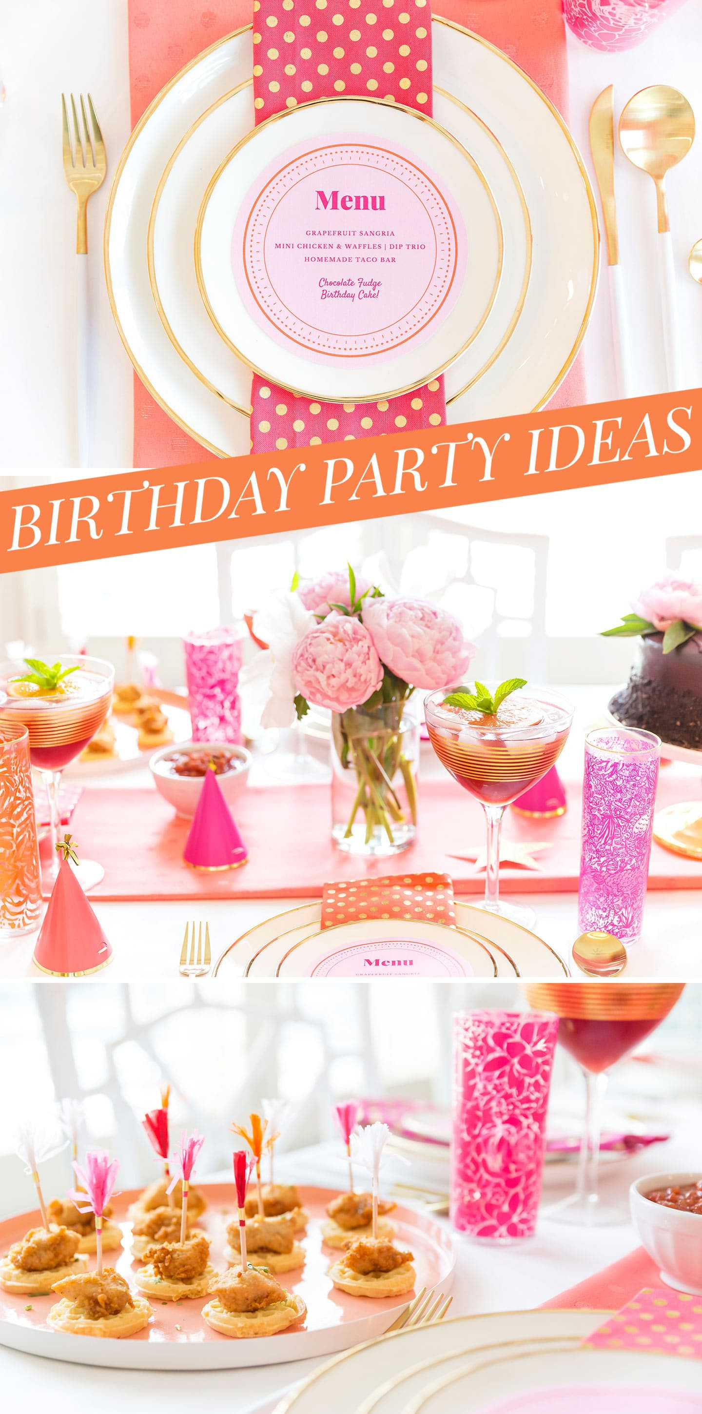 Adult Birthday Decorations  Creative Adult Birthday Party Ideas for the Girls