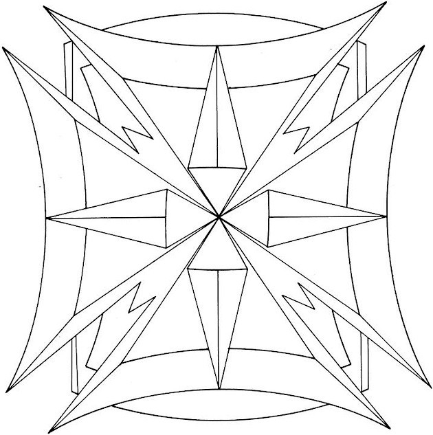 Adult Coloring Book Pages Geometric  41 Awesome and Free Geometric Coloring Pages for Adults